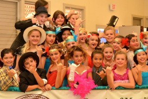 Cast members from our 2014 West Maui Youth Summer Camp posing for pics before their performance of Bugsy Malone Jr.