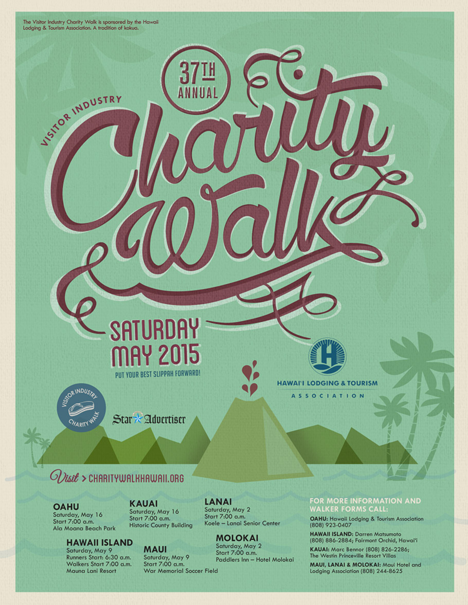 Theatre Theatre Maui Fundraises for the 37th Annual Visitor Industry Charity Walk