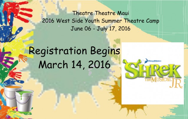 Summer Camp Registration Begins March 14, 2016