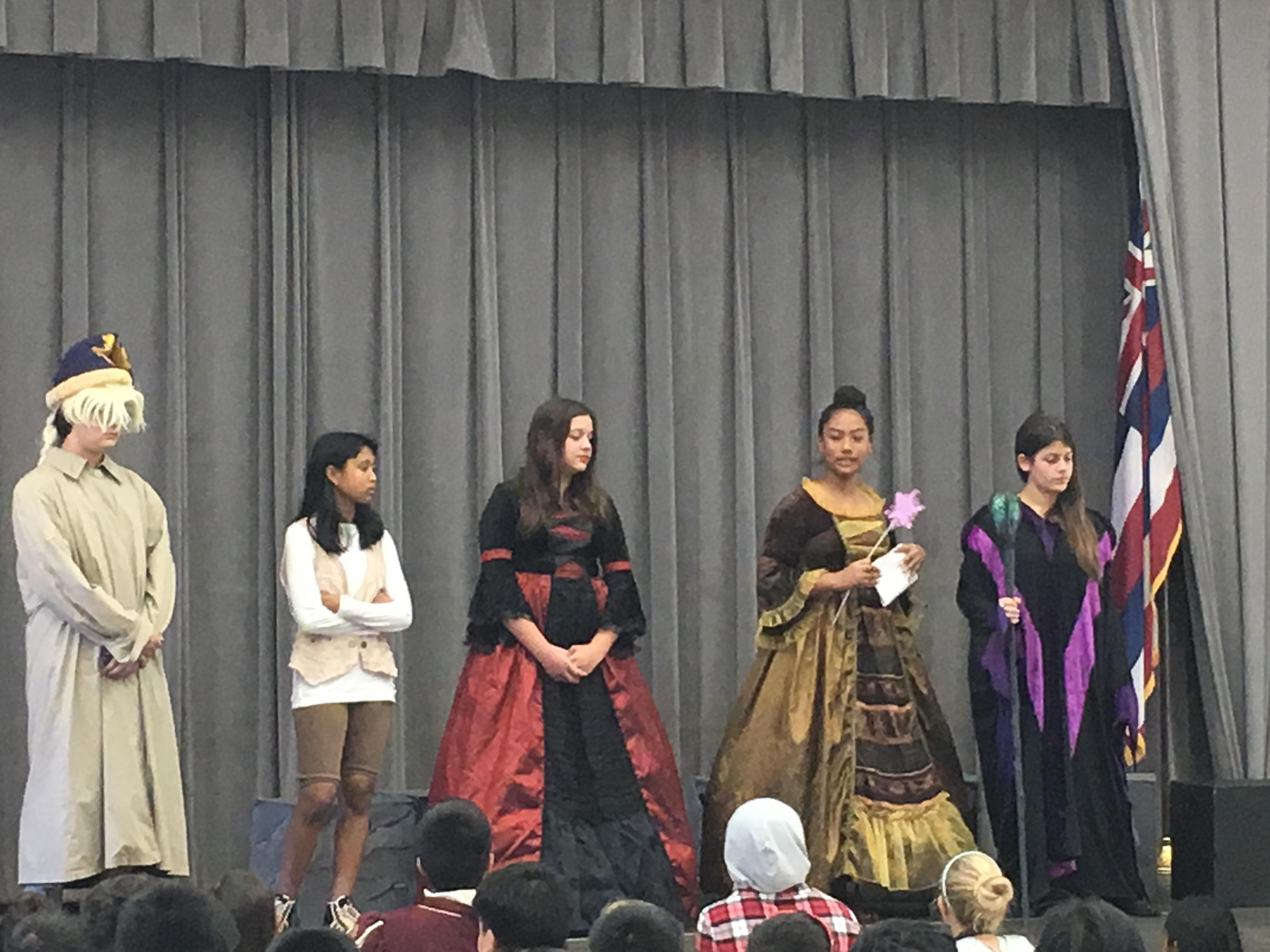LIS Students Perform at Lahaina Schools
