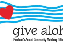 Give Aloha! All September, Donations Matched!